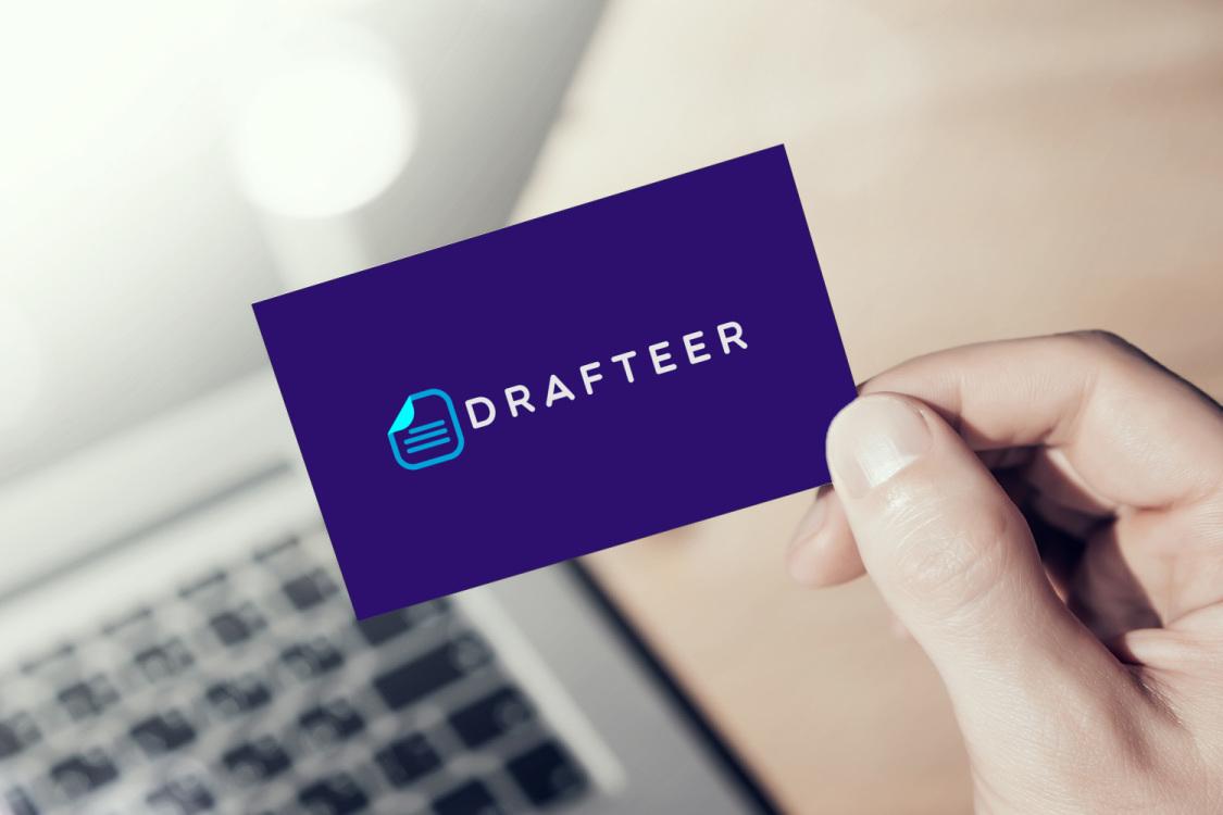 Sample branding #2 for Drafteer