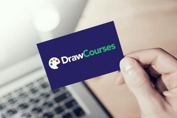 Sample branding #3 for Drawcourses