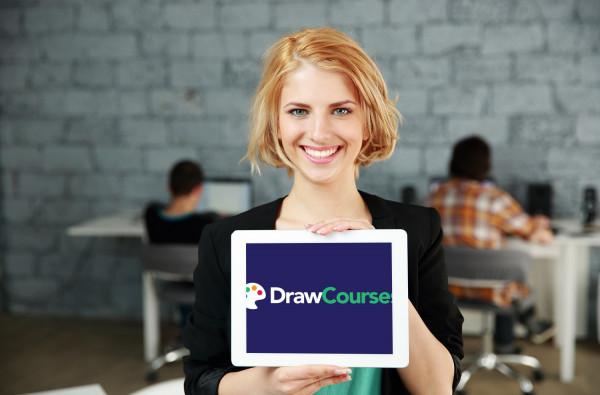 Sample branding #1 for Drawcourses