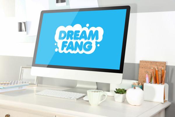 Sample branding #3 for Dreamfang