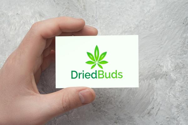 Sample branding #3 for Driedbuds