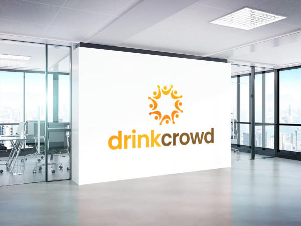 Sample branding #1 for Drinkcrowd