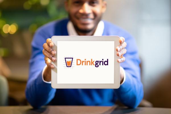 Sample branding #1 for Drinkgrid