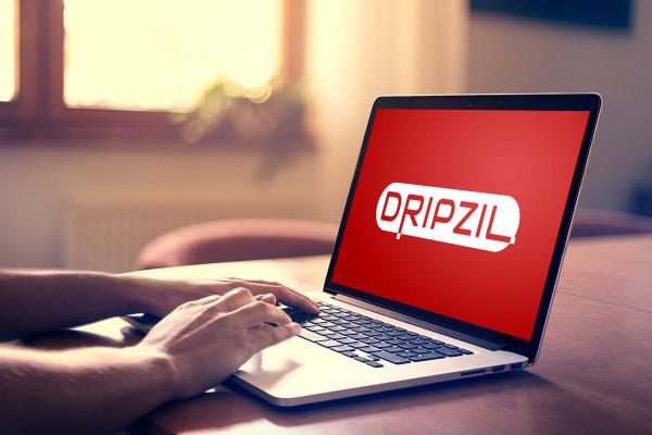 Sample branding #1 for Dripzil