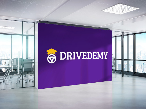 Sample branding #2 for Drivedemy