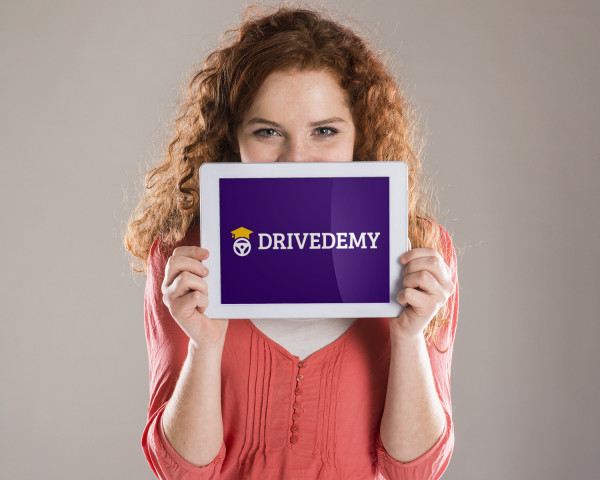 Sample branding #1 for Drivedemy