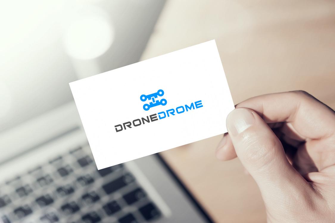 Sample branding #2 for Dronedrome