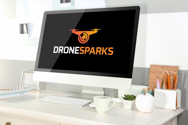 Sample branding #3 for Dronesparks
