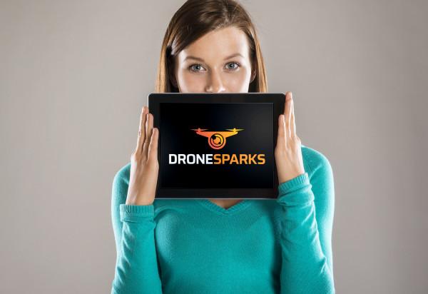 Sample branding #2 for Dronesparks