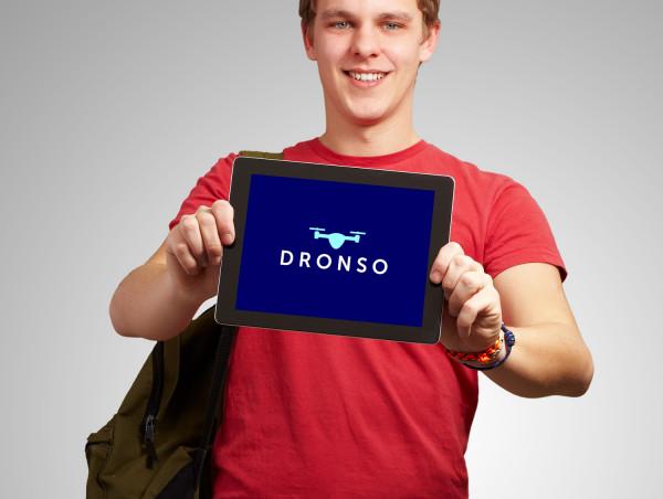 Sample branding #2 for Dronso