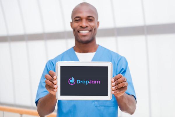 Sample branding #1 for Dropjam