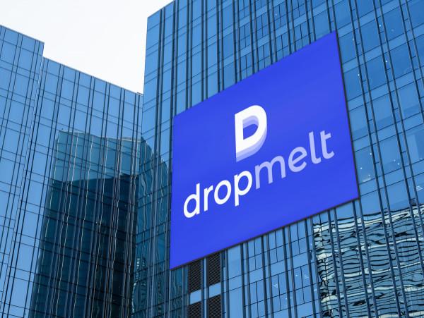 Sample branding #3 for Dropmelt