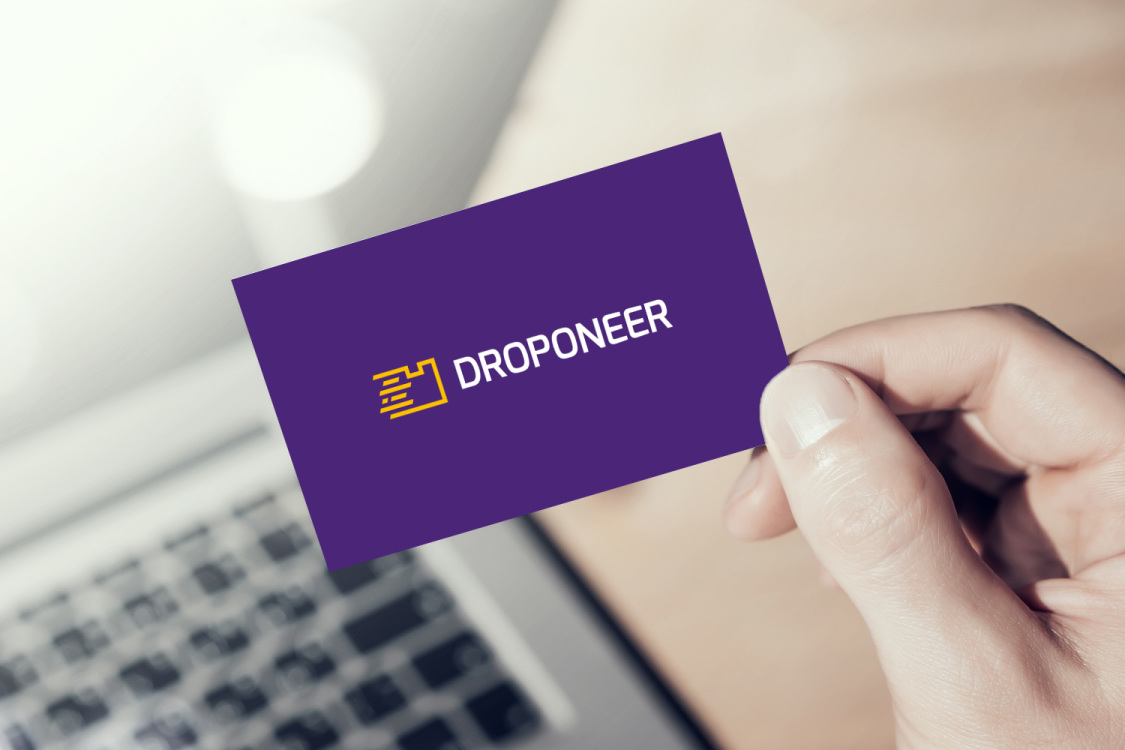 Sample branding #2 for Droponeer
