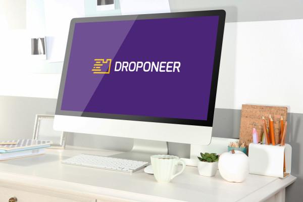 Sample branding #1 for Droponeer