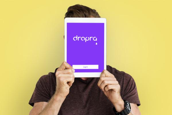 Sample branding #1 for Dropra