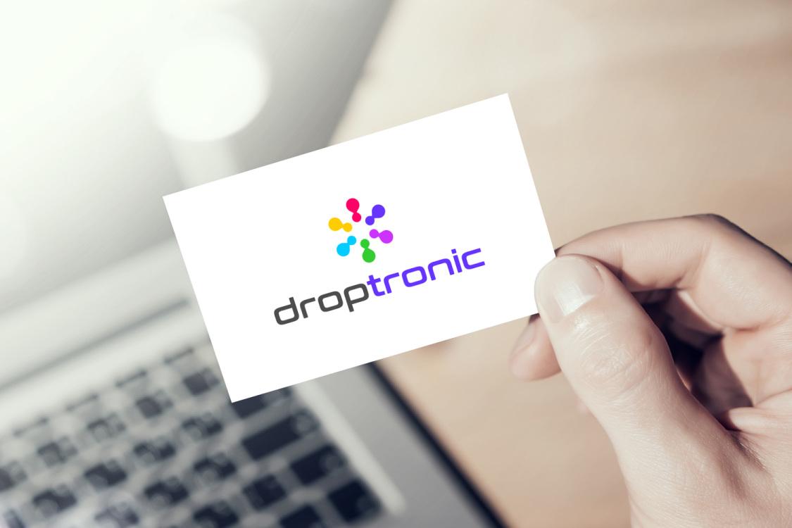 Sample branding #2 for Droptronic