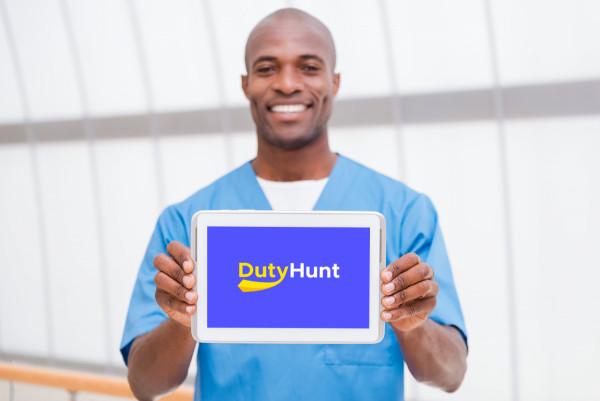 Sample branding #1 for Dutyhunt