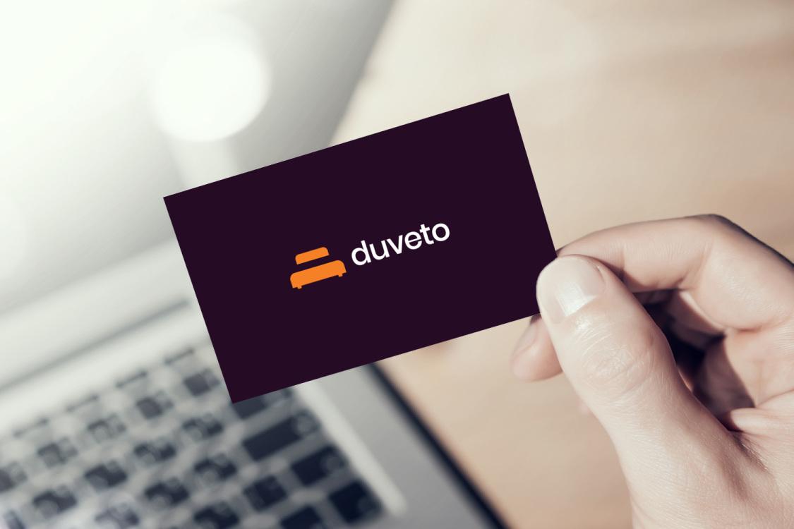 Sample branding #3 for Duveto