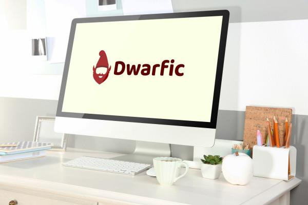 Sample branding #1 for Dwarfic