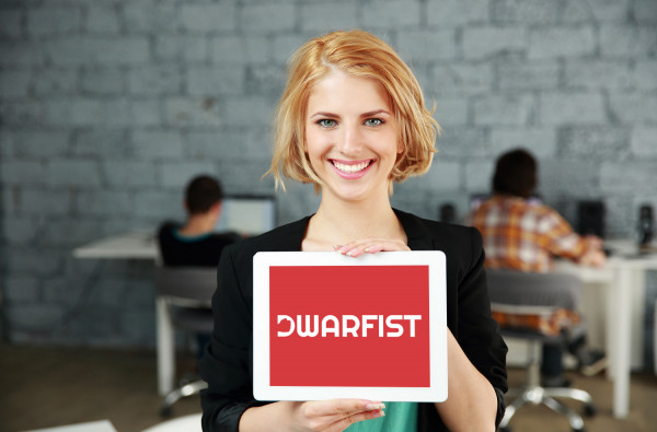 Sample branding #2 for Dwarfist