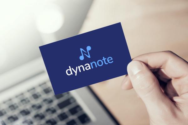 Sample branding #2 for Dynanote