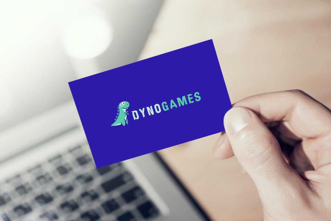 Sample branding #1 for Dynogames