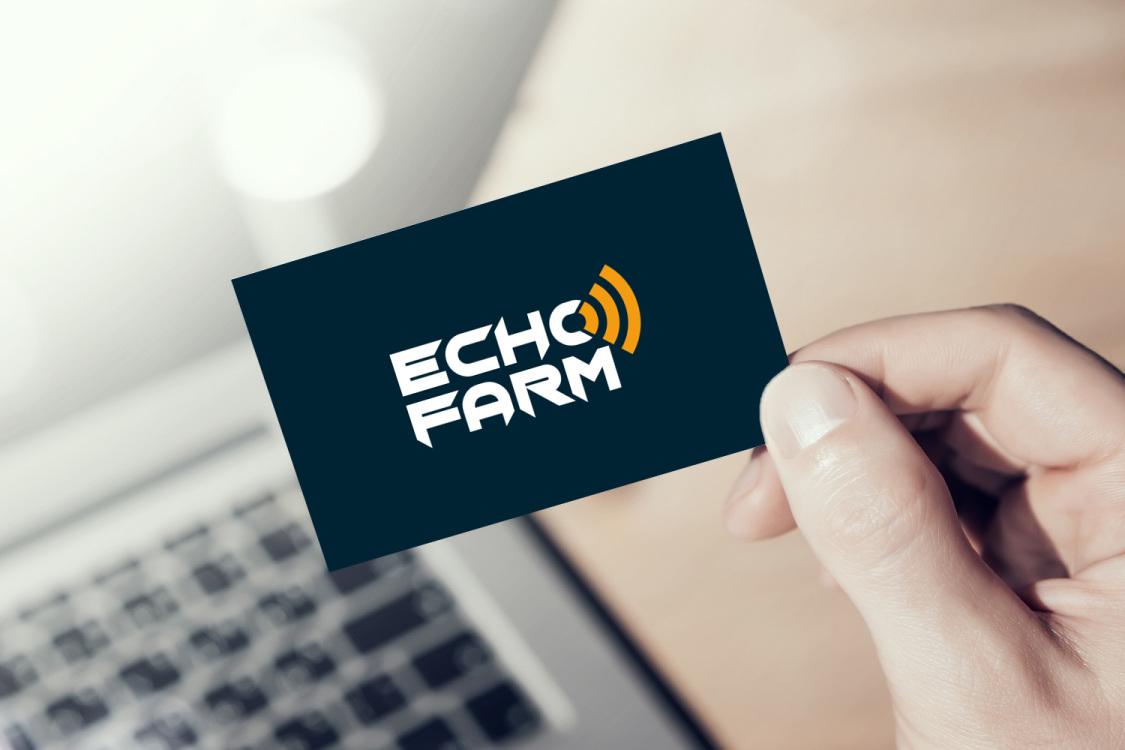 Sample branding #2 for Echofarm