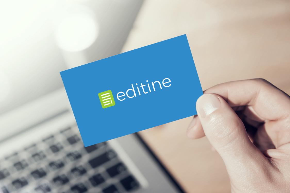 Sample branding #3 for Editine