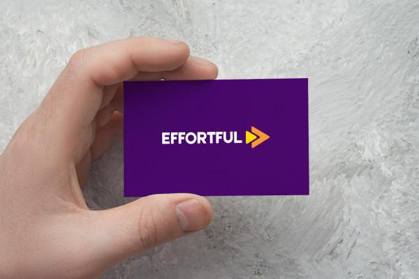 Sample branding #3 for Effortful