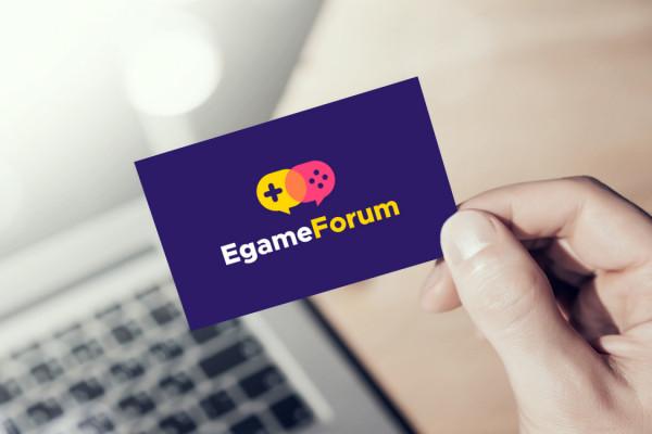 Sample branding #1 for Egameforum