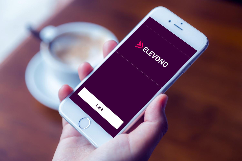 Sample branding #1 for Elevono
