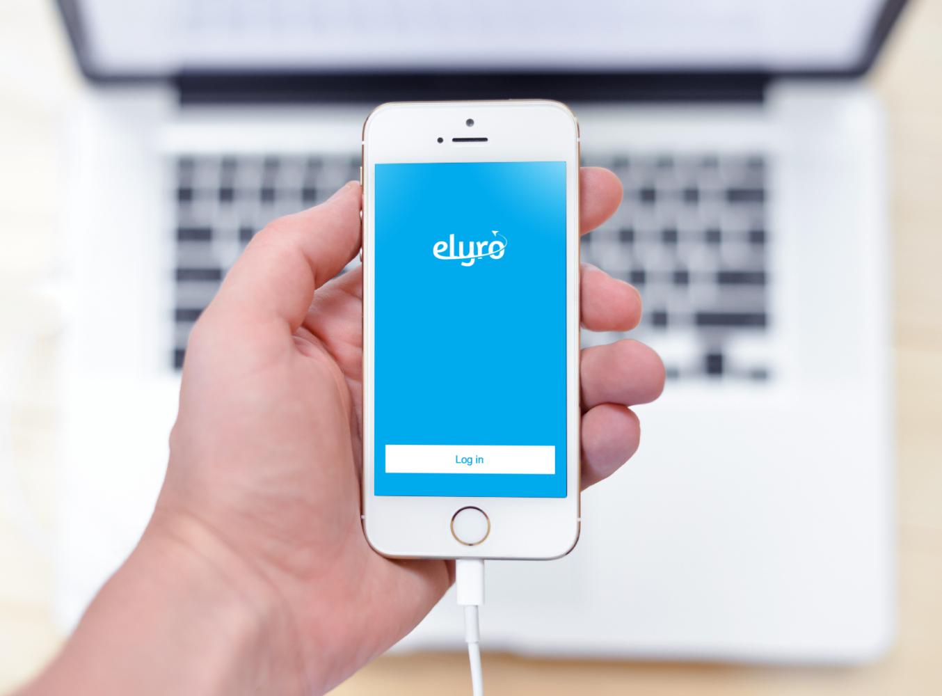 Sample branding #1 for Elyro