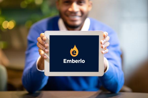 Sample branding #1 for Emberlo