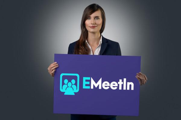Sample branding #2 for Emeetin