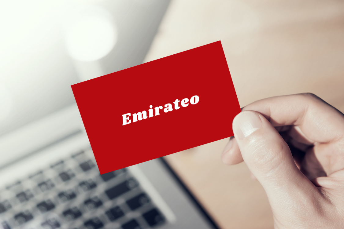 Sample branding #1 for Emirateo