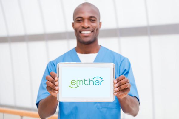 Sample branding #1 for Emther
