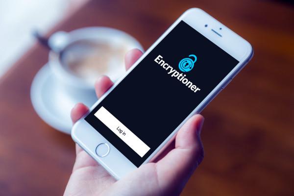 Sample branding #3 for Encryptioner