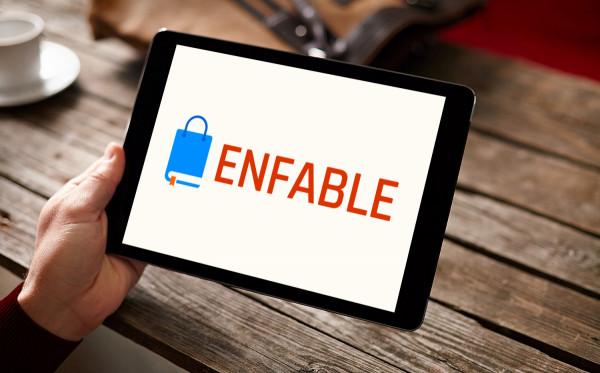 Sample branding #1 for Enfable