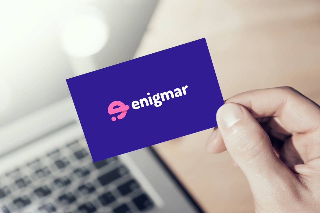 Sample branding #3 for Enigmar