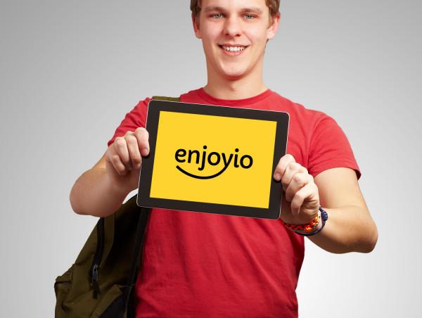 Sample branding #2 for Enjoyio