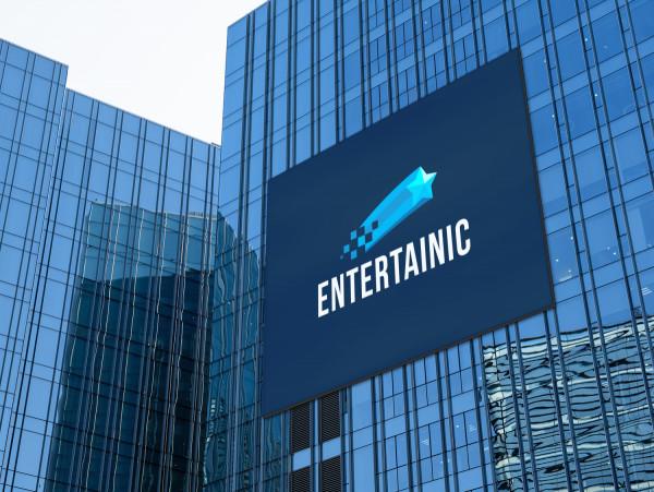 Sample branding #2 for Entertainic