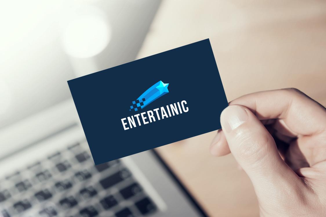 Sample branding #3 for Entertainic