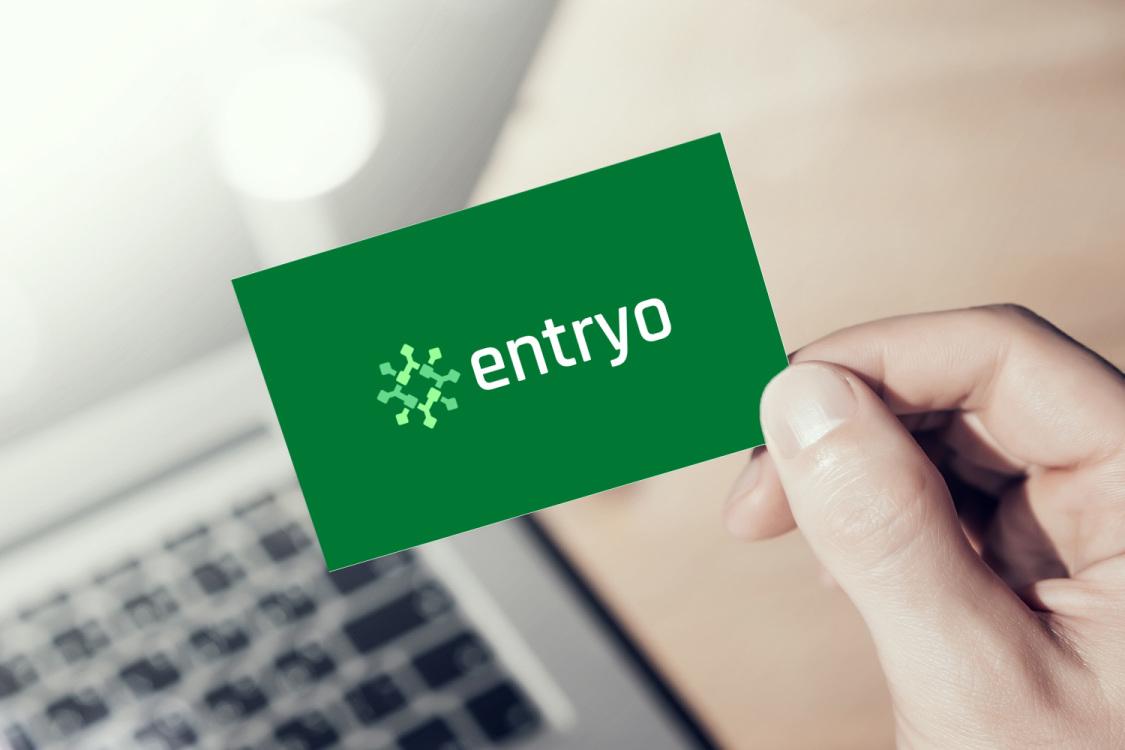 Sample branding #1 for Entryo
