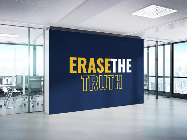 Sample branding #3 for Erasethetruth