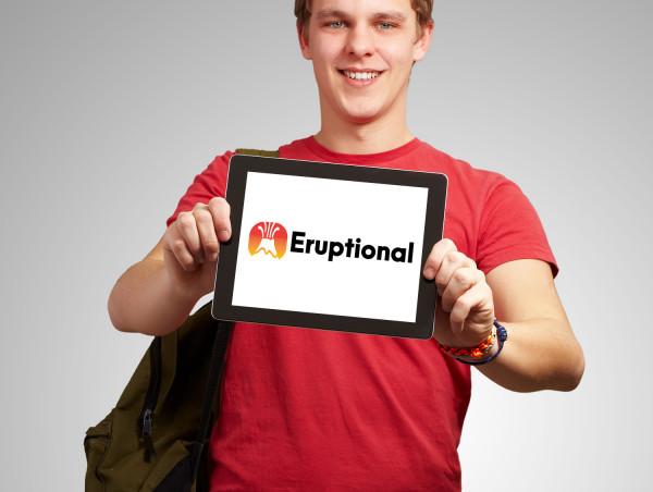Sample branding #1 for Eruptional