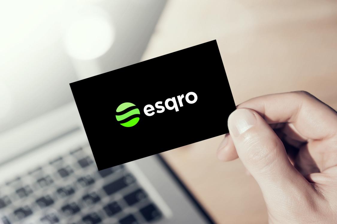 Sample branding #1 for Esqro