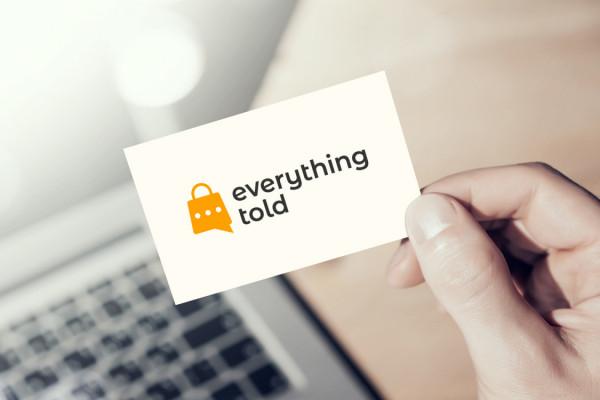 Sample branding #3 for Everythingtold