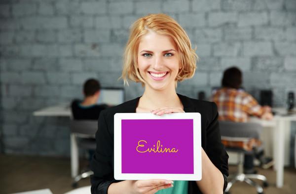 Sample branding #1 for Evilina