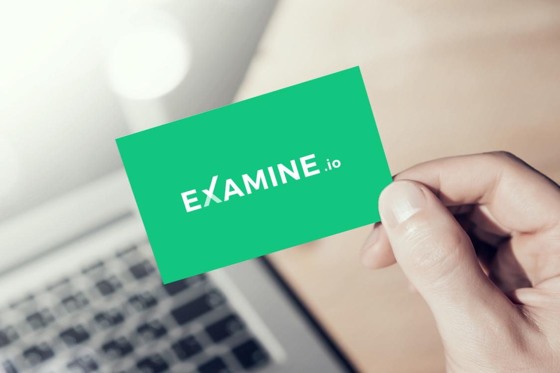 Sample branding #3 for Examine