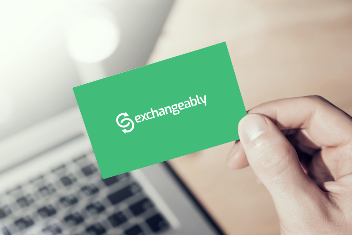 Sample branding #1 for Exchangeably